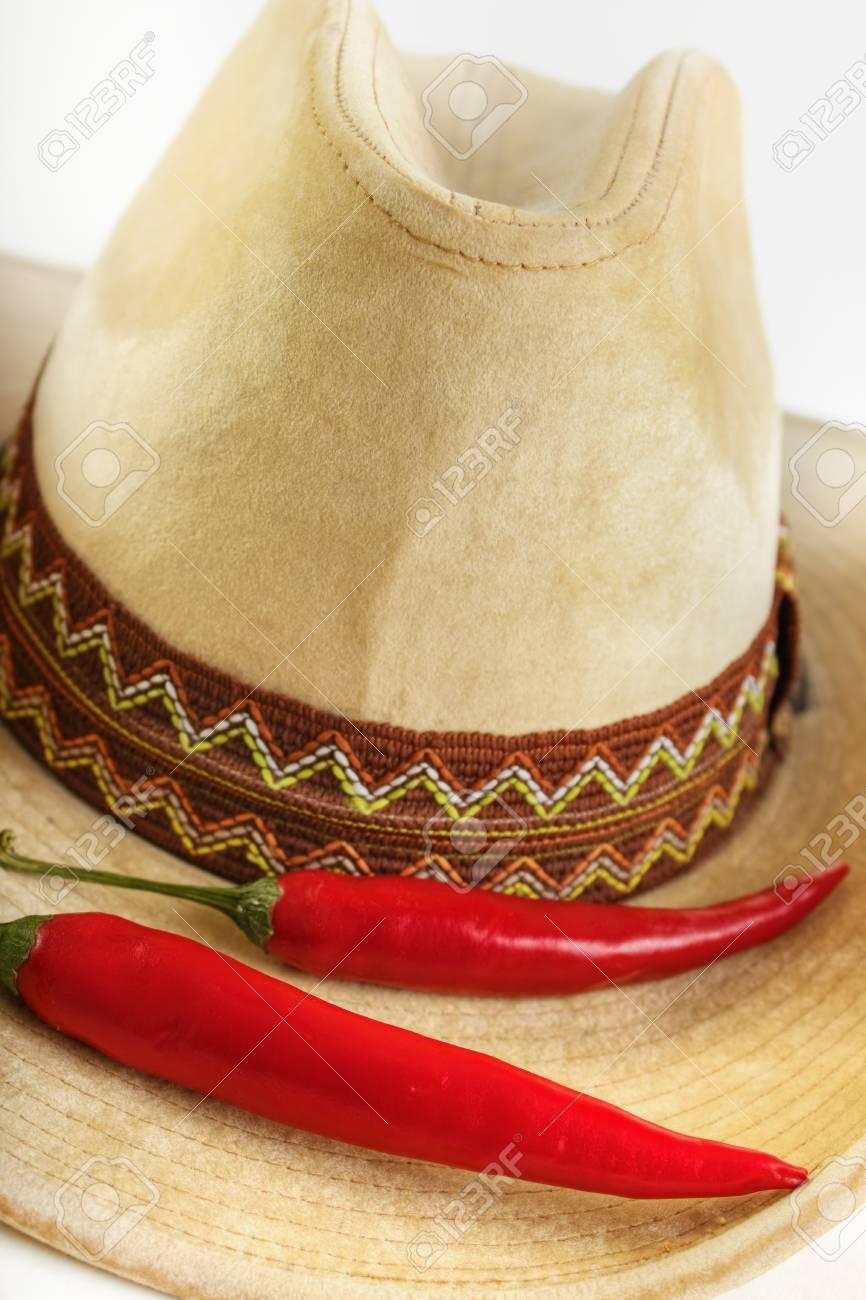 Chile Rojo Con Sombrero De Vaquero 49376d26712