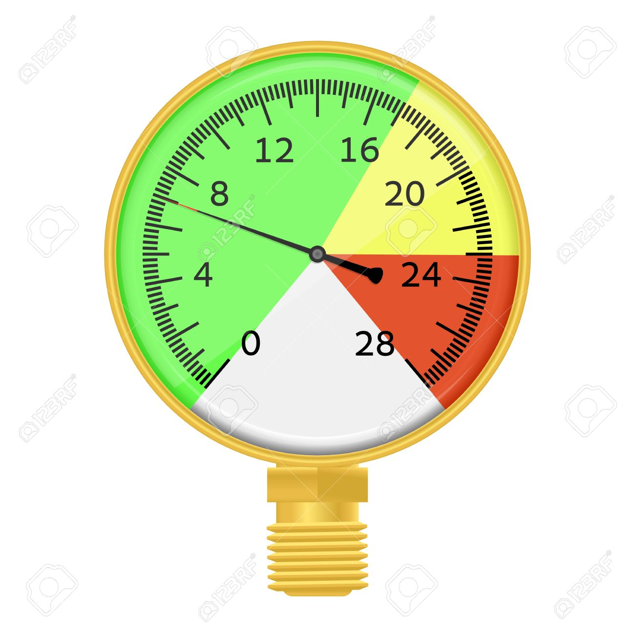 637 Pressure Indicator Stock Vector Illustration And Royalty Free ...