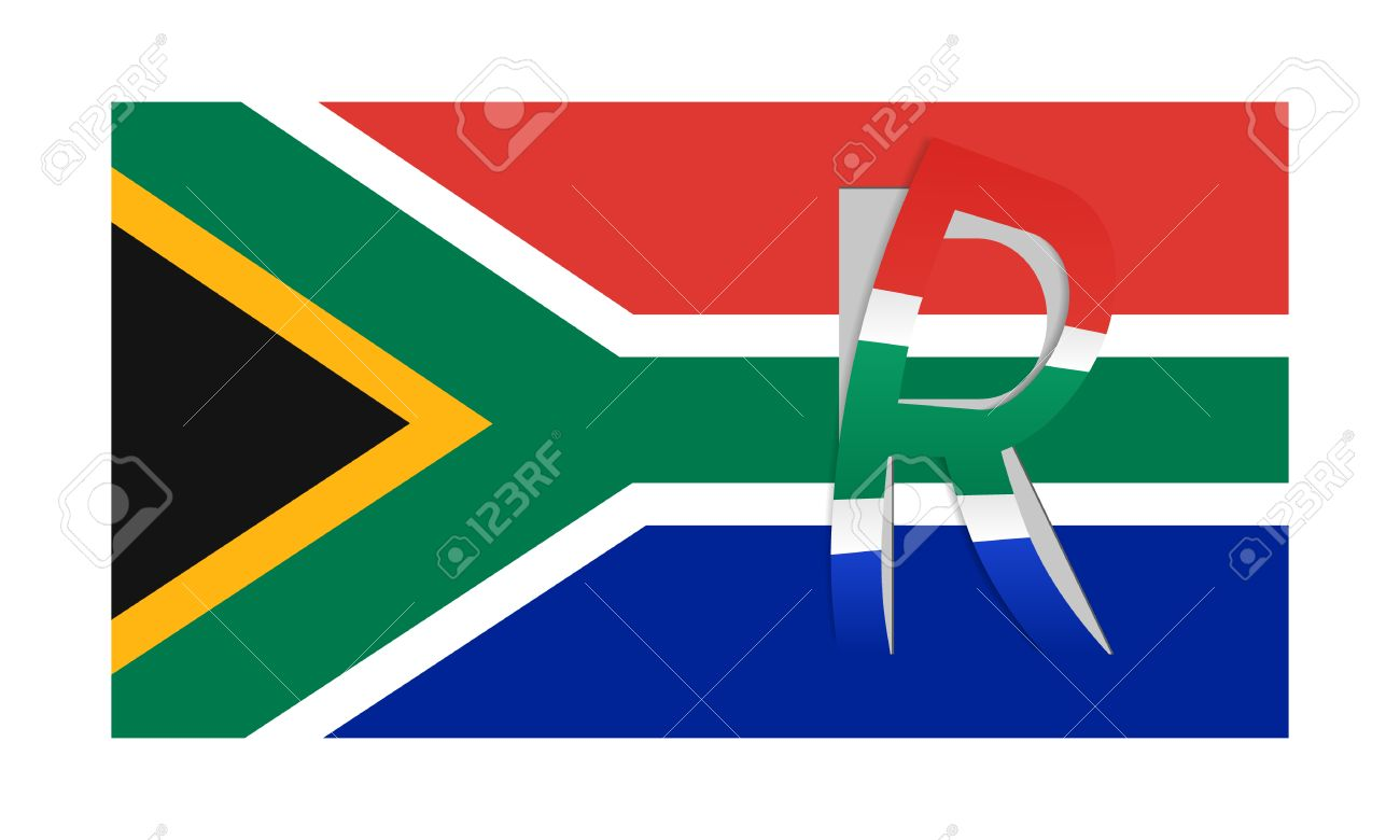 Vector flag of south africa with peeled currency rand symbol vector flag of south africa with peeled currency rand symbol stock vector 39348641 buycottarizona