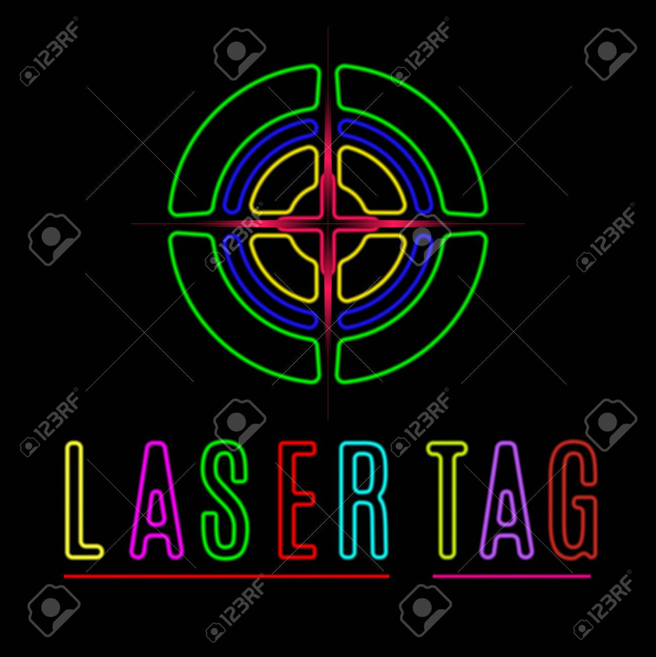 1 862 laser tag cliparts stock vector and royalty free laser tag rh 123rf com laser tag gun clipart laser tag target clipart