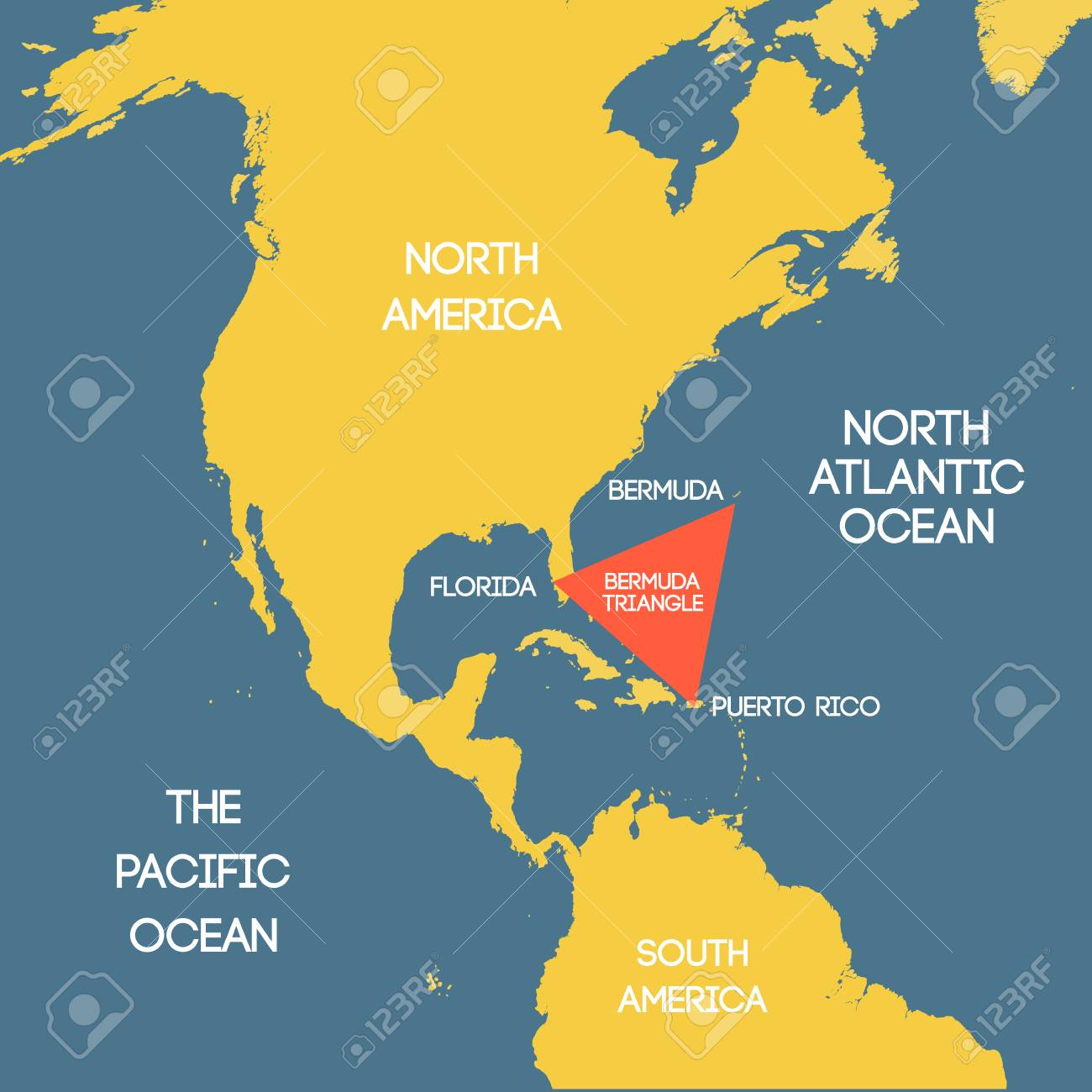 Vector Map Of The Bermuda Royalty Free Cliparts Vectors And Stock