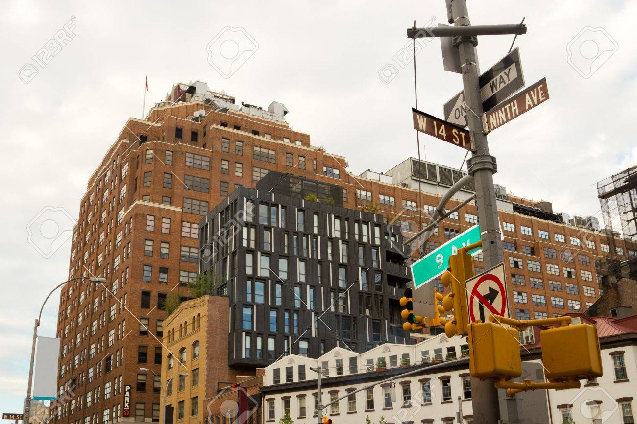 Chelsea Buildings With A Modern Architectural Style In The