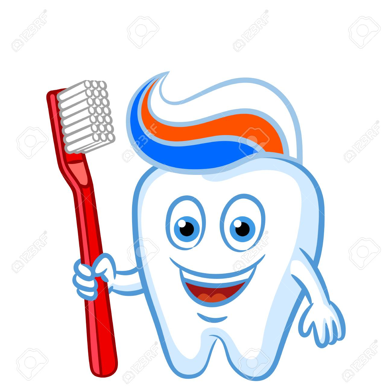 Image result for cartoon toothbrush