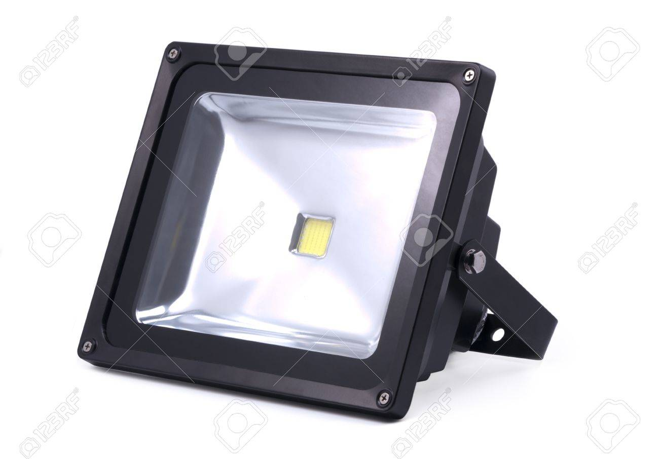 LED lamp; projector; object on white background Stock Photo - 12986511