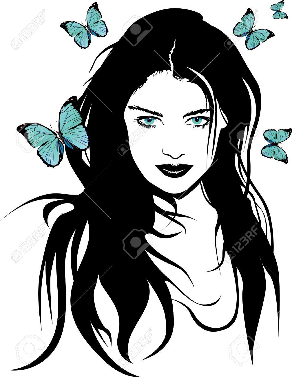 Красивые картинки девушки с цветами