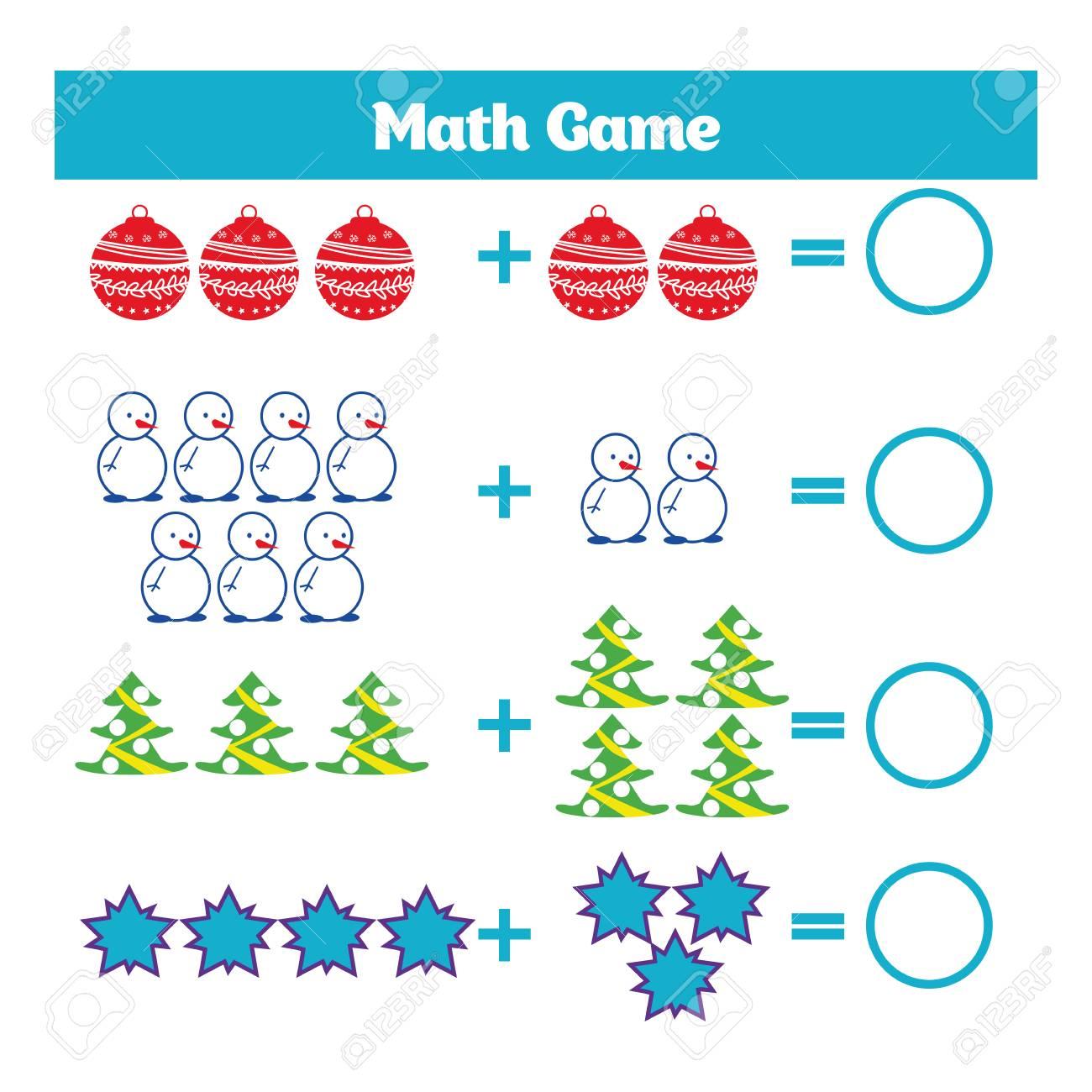 2bc9851defc9 Foto de archivo - Juego educativo matemático para niños. Hoja de trabajo de  resta de aprendizaje para niños, actividad de conteo. Ilustración vectorial