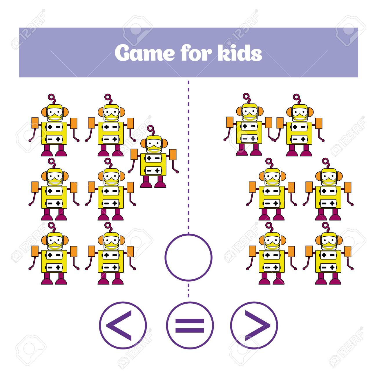 Education Logic Game For Preschool Kids Choose The Correct Answer
