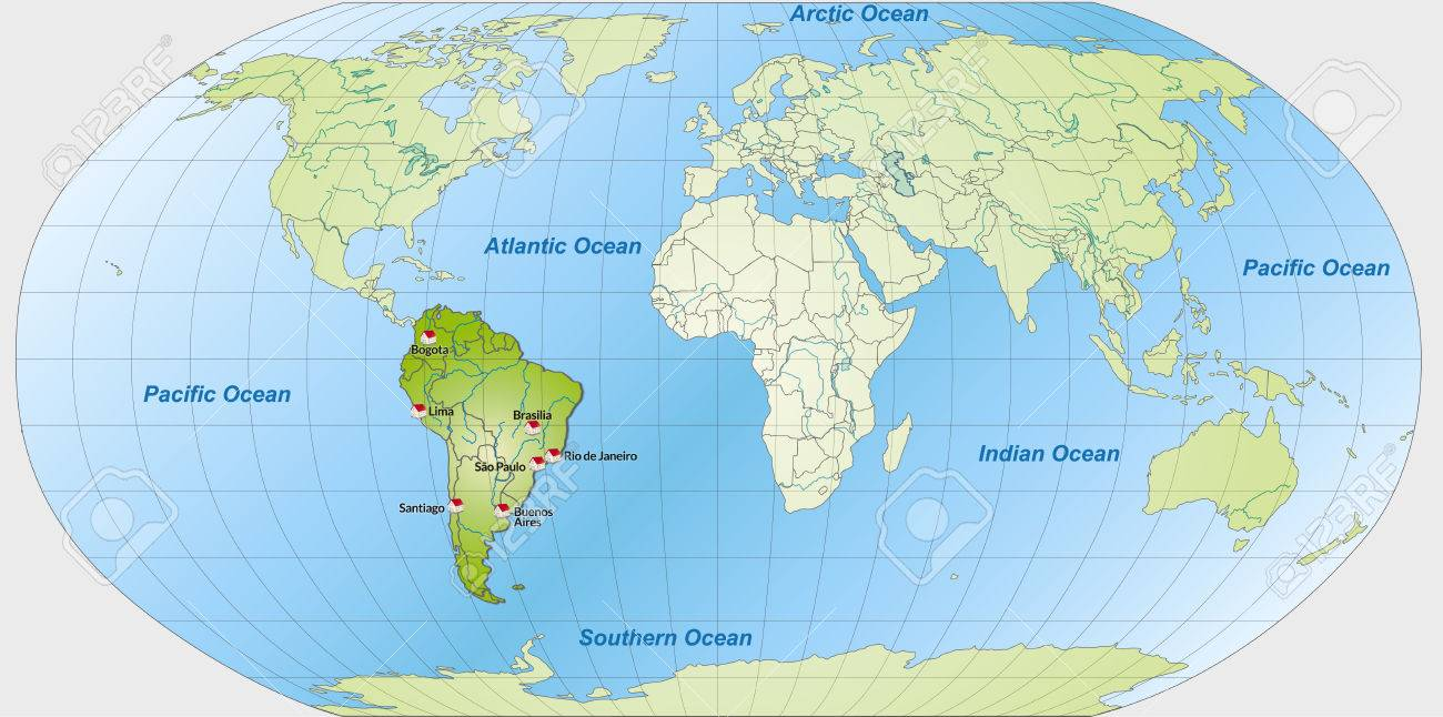 Southern Usa Map Cities The Best Times To Travel To South America