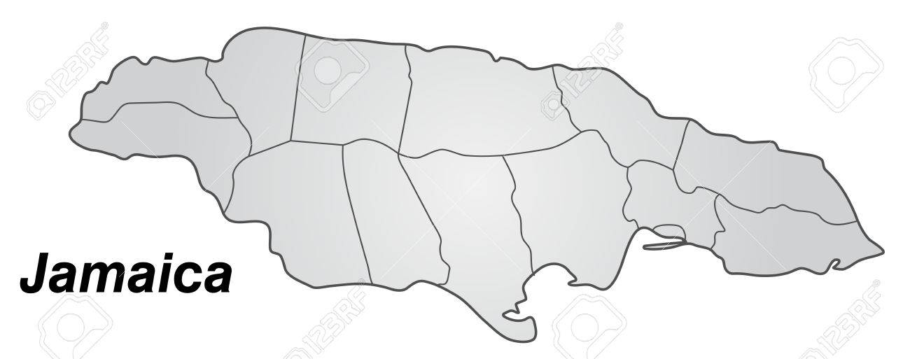 Map of Jamaica with borders in gray Drawing Of Jamaica Map on map of colorado drawing, map of norway drawing, map of mexico drawing, map of india drawing, map of greece drawing, map of peru drawing, map of brazil drawing, map of north america drawing, map of egypt drawing, map of ireland drawing, map of guyana drawing, map of singapore drawing, map of arizona drawing, map of fiji drawing, map of iraq drawing, map of world drawing, map of africa drawing, map of germany drawing, map of new york drawing, map of japan drawing,
