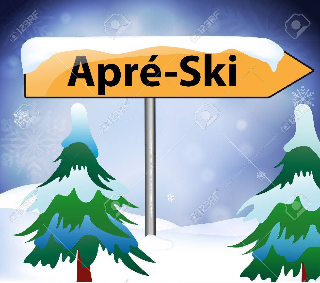 Apres ski as a signpost - 48862113