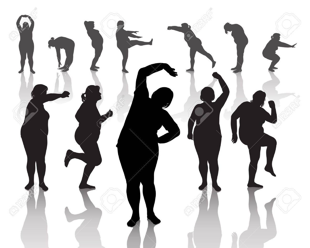 Фигуры толстых женщин 9 фотография
