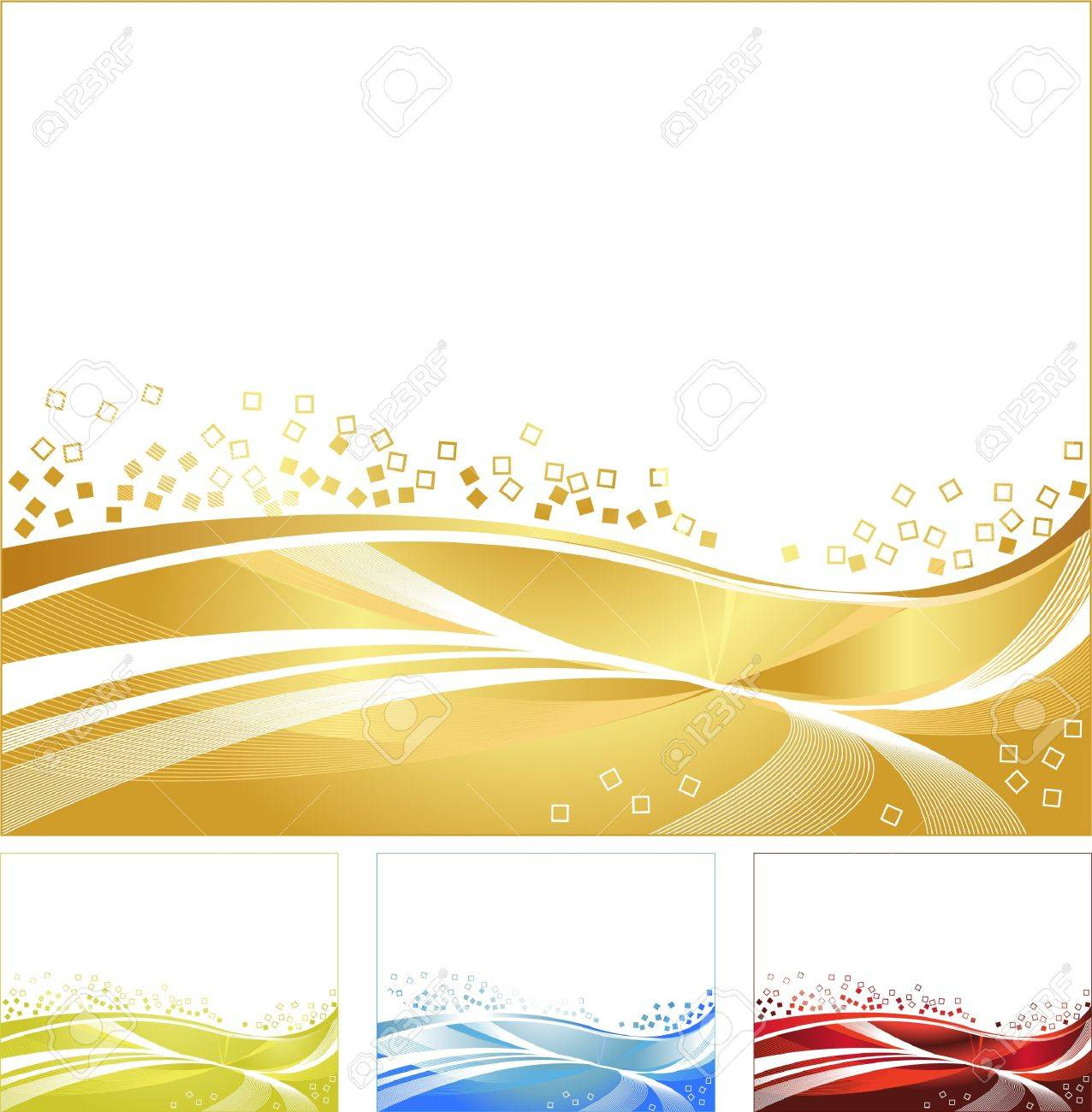 golden background Stock Vector - 15369927