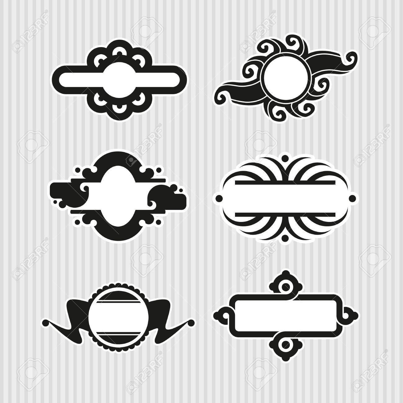 Medallions, Seals and Badges Stock Vector - 17121817