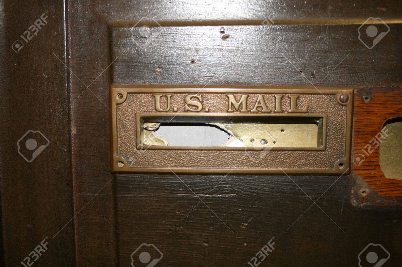 Us mail door slot la roulette russe jeu