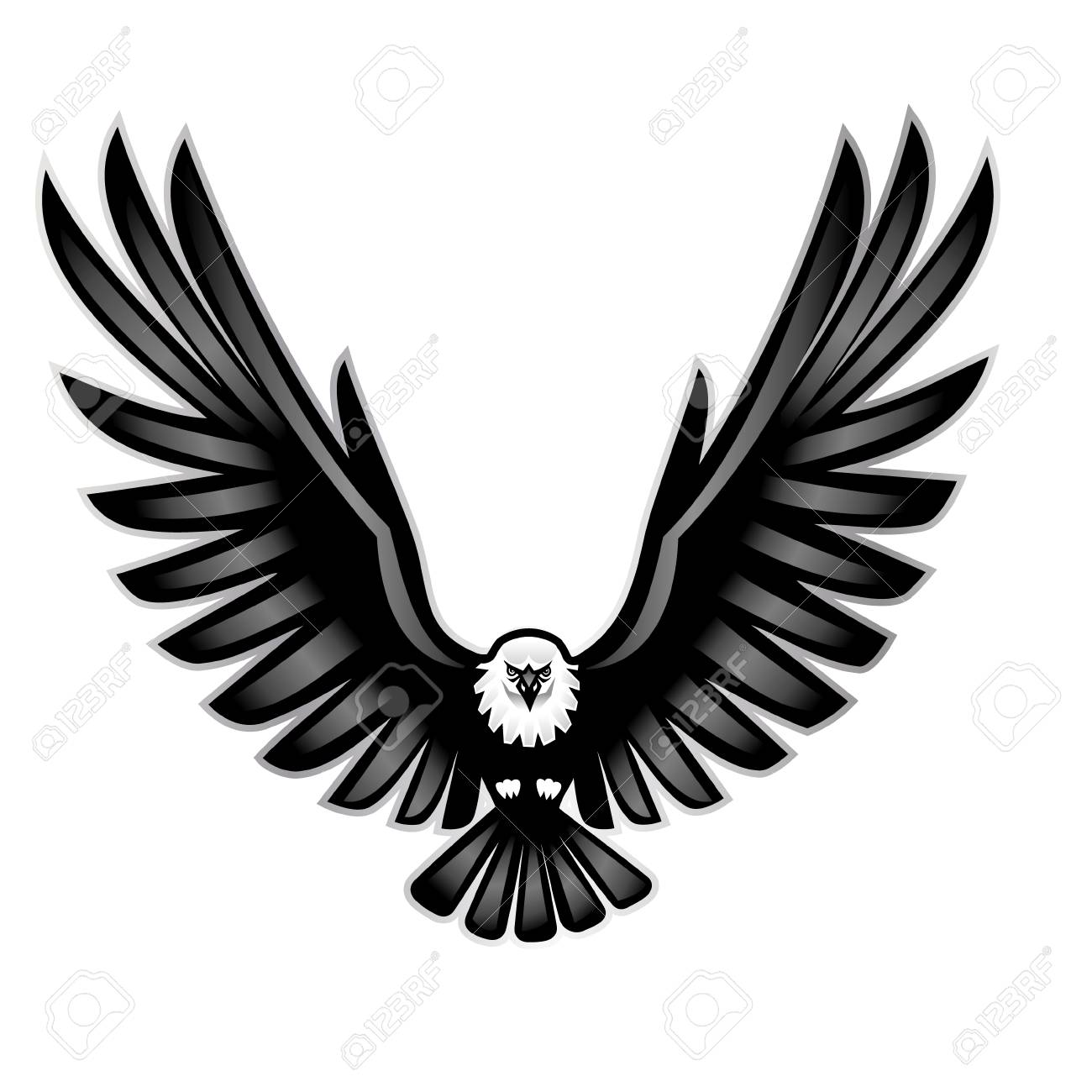 vector illustration of a eagle wings royalty free cliparts vectors and stock illustration image 117796535 vector illustration of a eagle wings