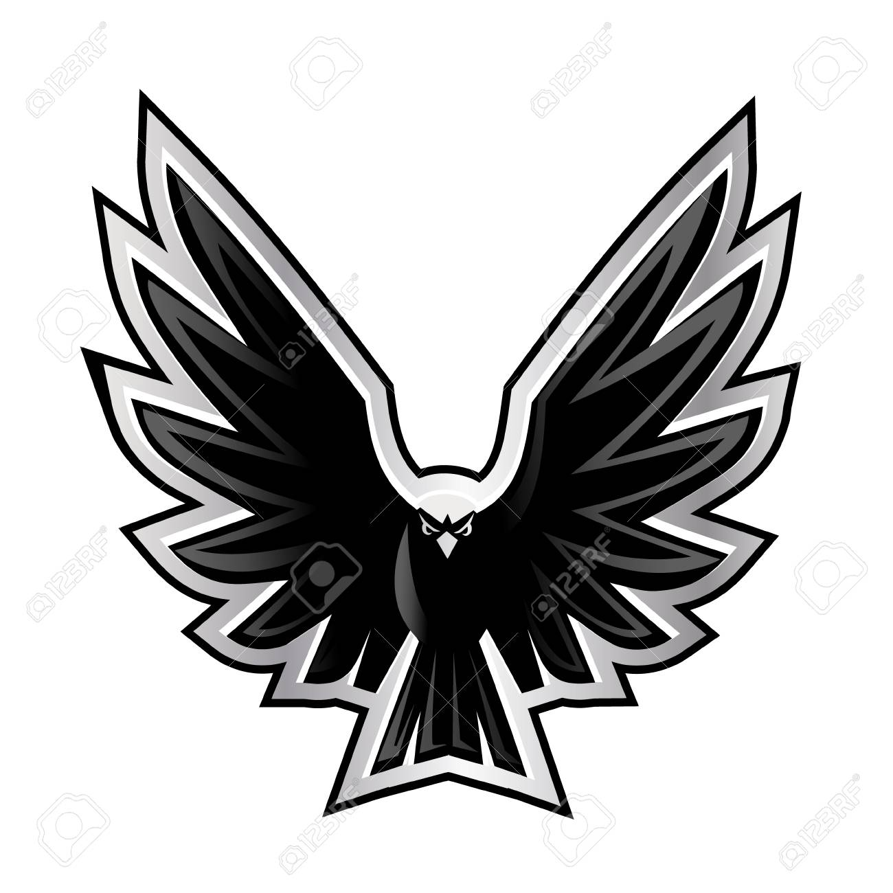 vector illustration of a eagle wings royalty free cliparts vectors and stock illustration image 117796540 123rf com