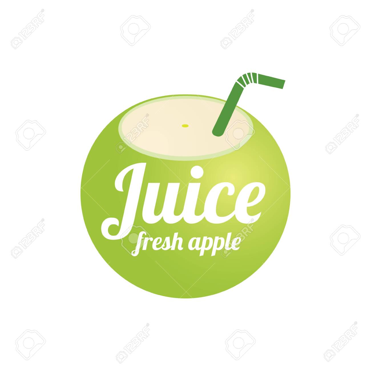 apple juice logo design concept fruit and juice icon theme royalty free cliparts vectors and stock illustration image 137661898 apple juice logo design concept fruit and juice icon theme