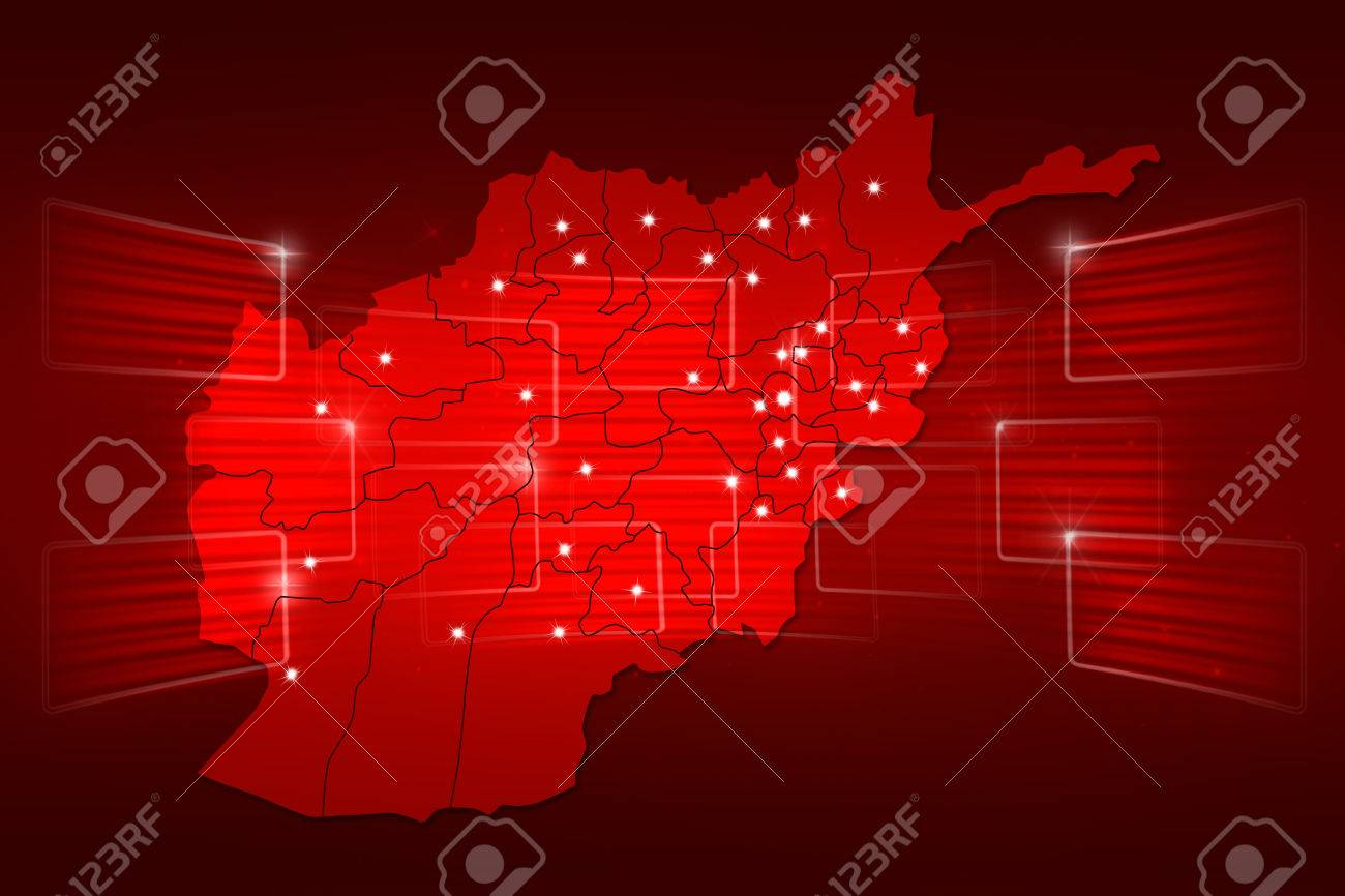 Afghanistan map world map news communication delivery red stock afghanistan map world map news communication delivery red stock photo 35000505 gumiabroncs Image collections
