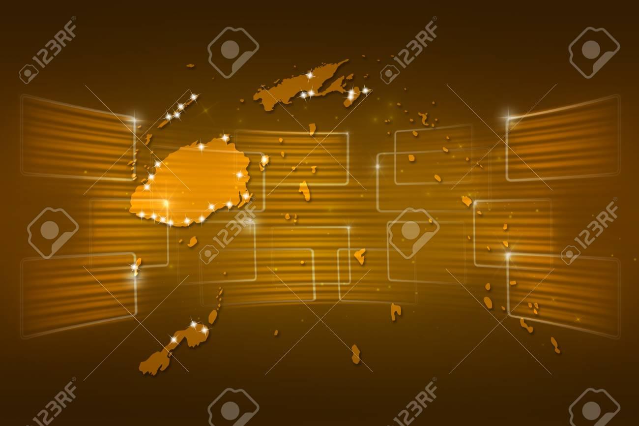 Islas Fiji Mapa Mapa Del Mundo La Entrega Noticias Comunicacion Oro Amarillo