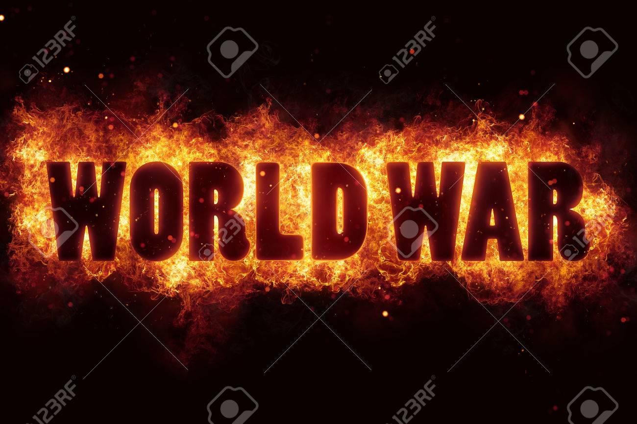 terrorismo di guerra mondiale terrorismo fuoco bruciare il testo della fiamma è esplodere Archivio Fotografico - 75158653