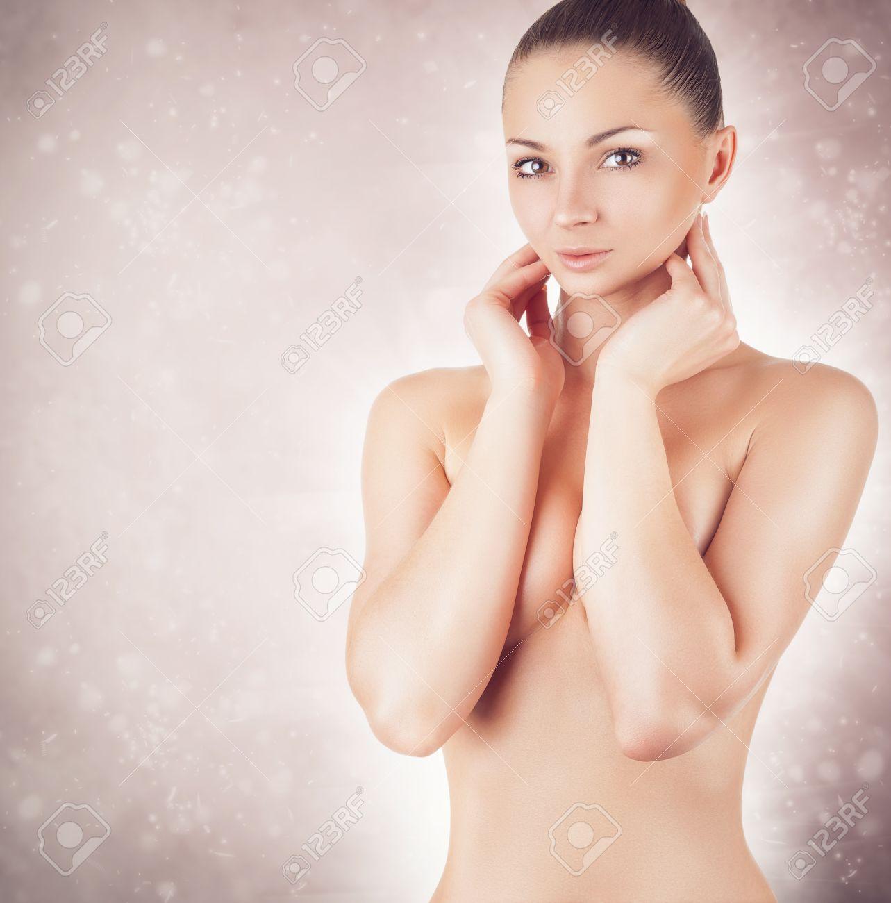 Beautiful bare breasts