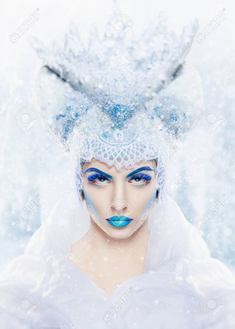 Snow Queen Makeup