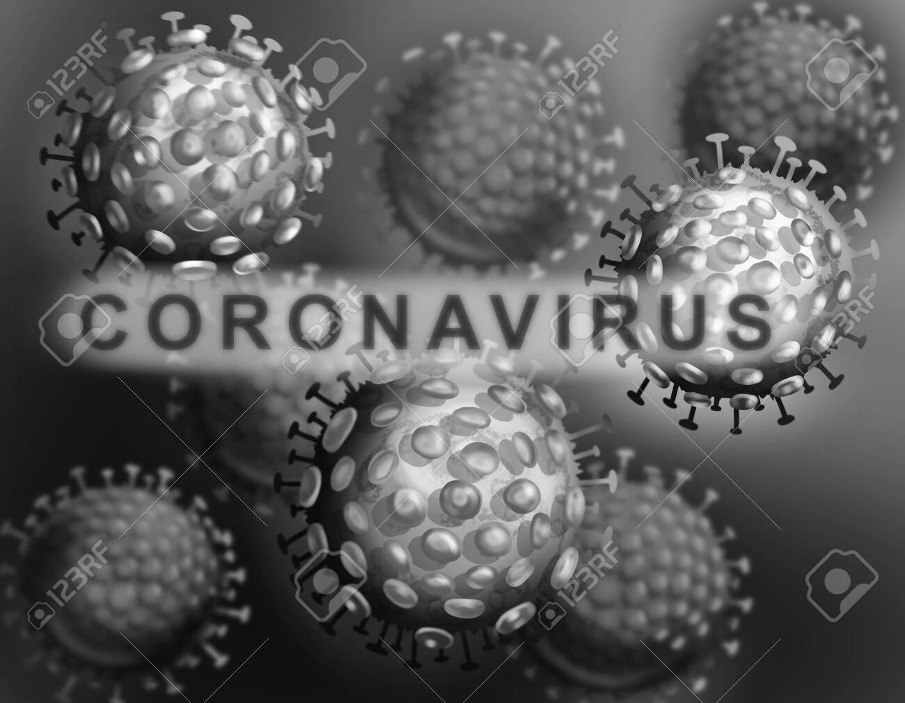 Illustration of the human coronavirus. 2019-nCoV - 139150703