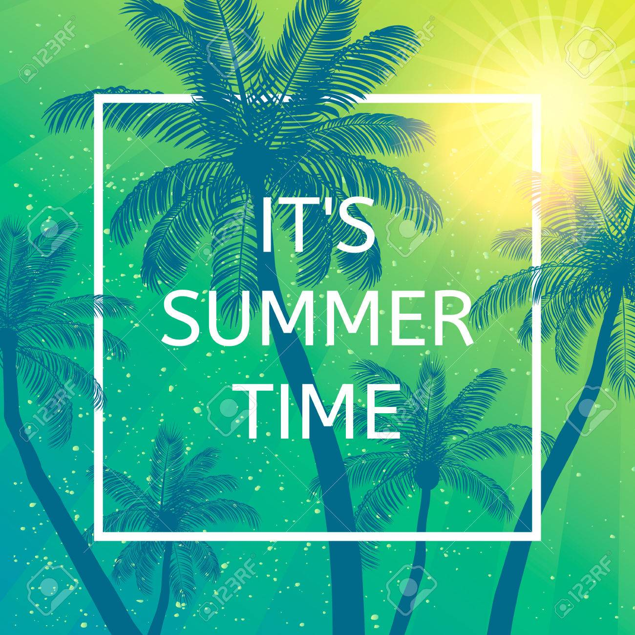 Its Summer Time Wallpaper Fun Party Background Picture