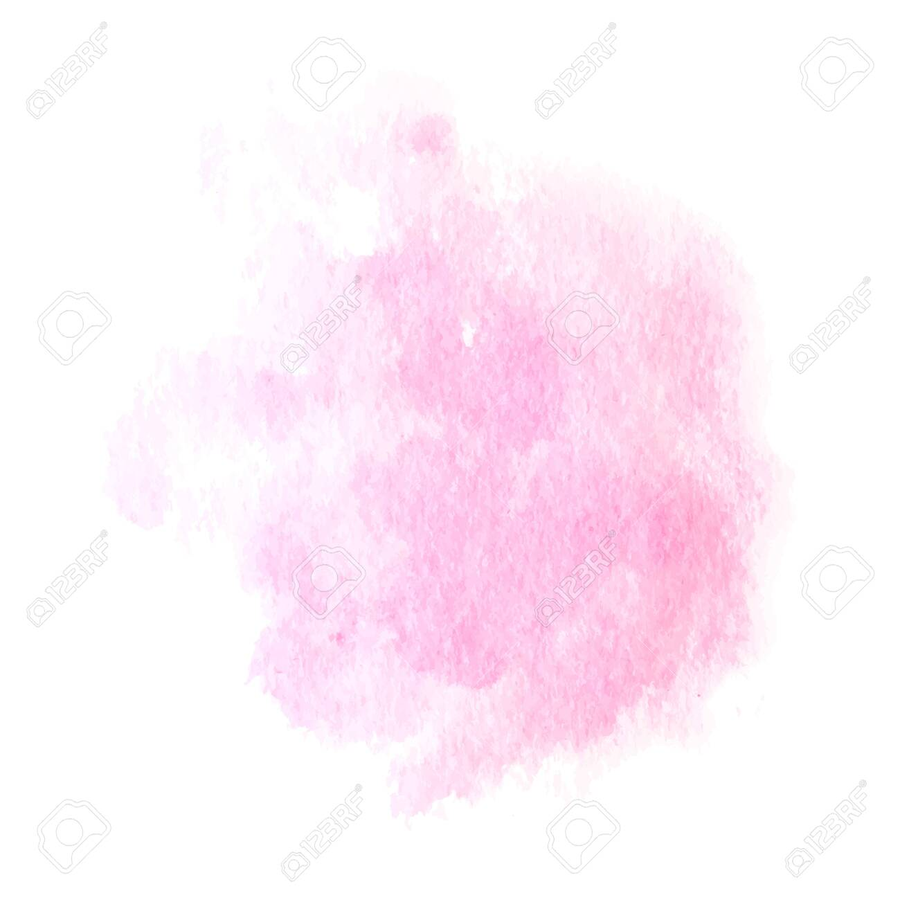Soft pink powder color watercolor background. Vector - 125518792