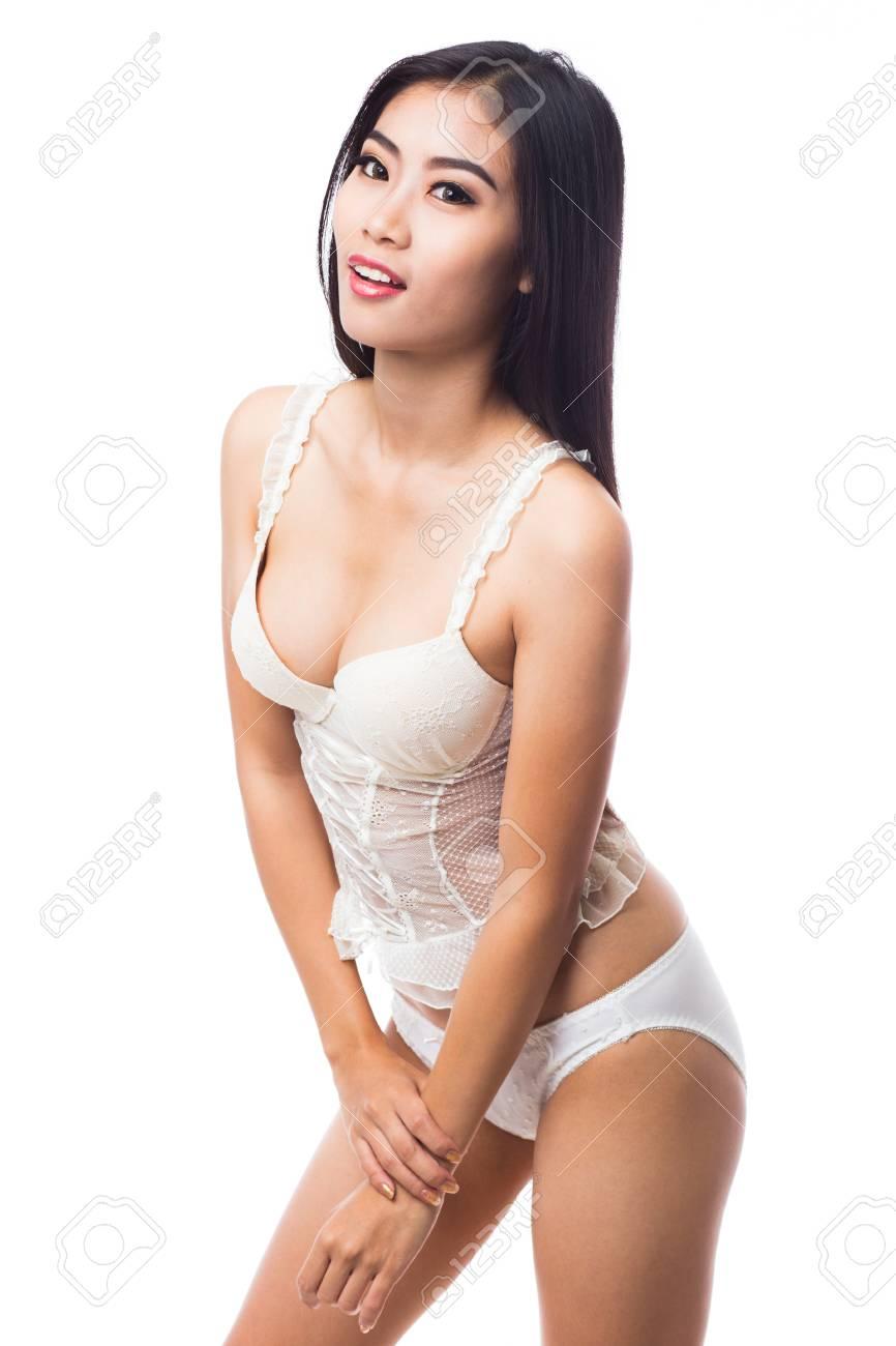 Sexy asian women in lingerie