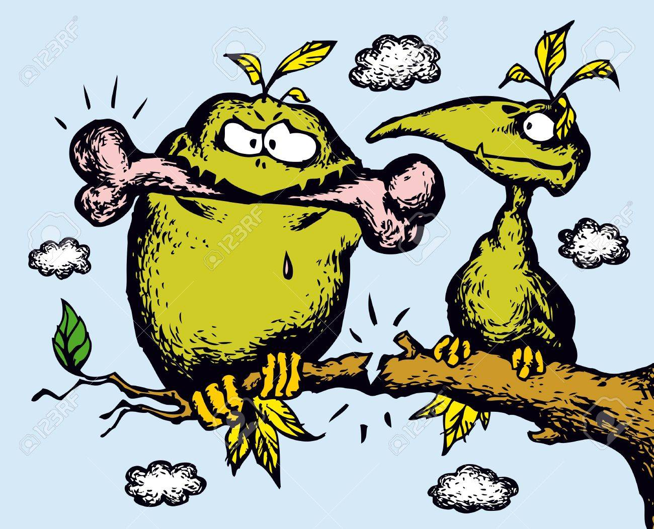 greed humor handdrawn cartoon illustrations drawing humorous Stock  Illustration - 8663676