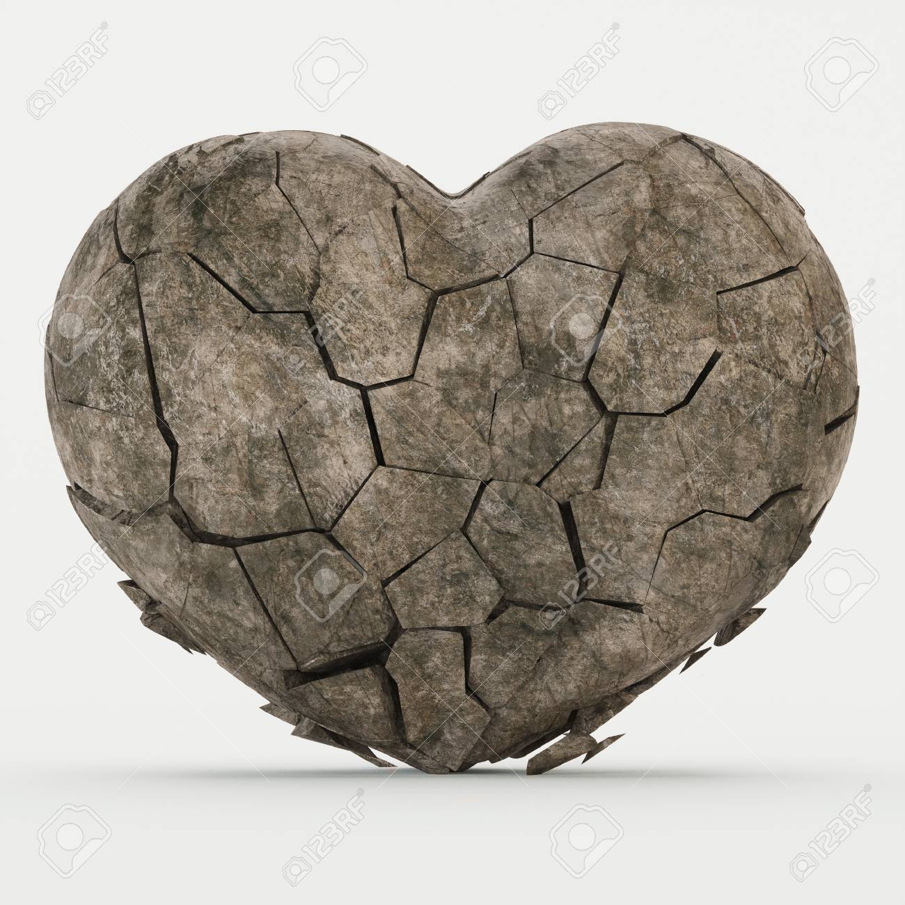 heart with calcification