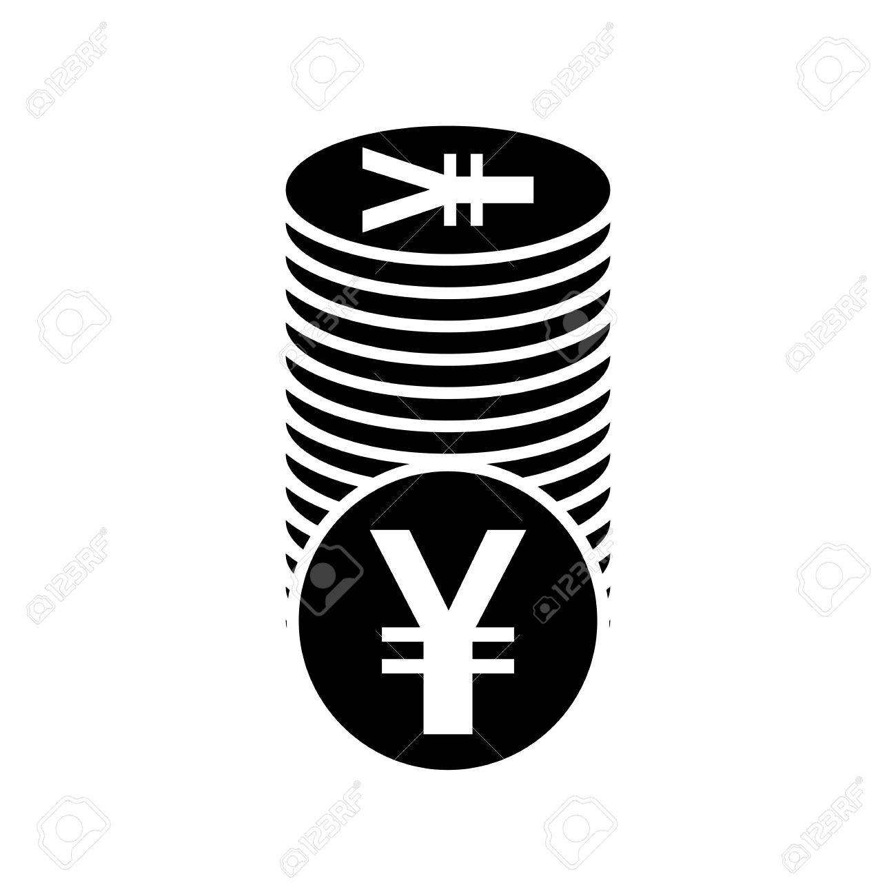Japanese yen or chinese yuan currency symbol flat icon for apps japanese yen or chinese yuan currency symbol flat icon for apps and websites stock vector biocorpaavc Choice Image