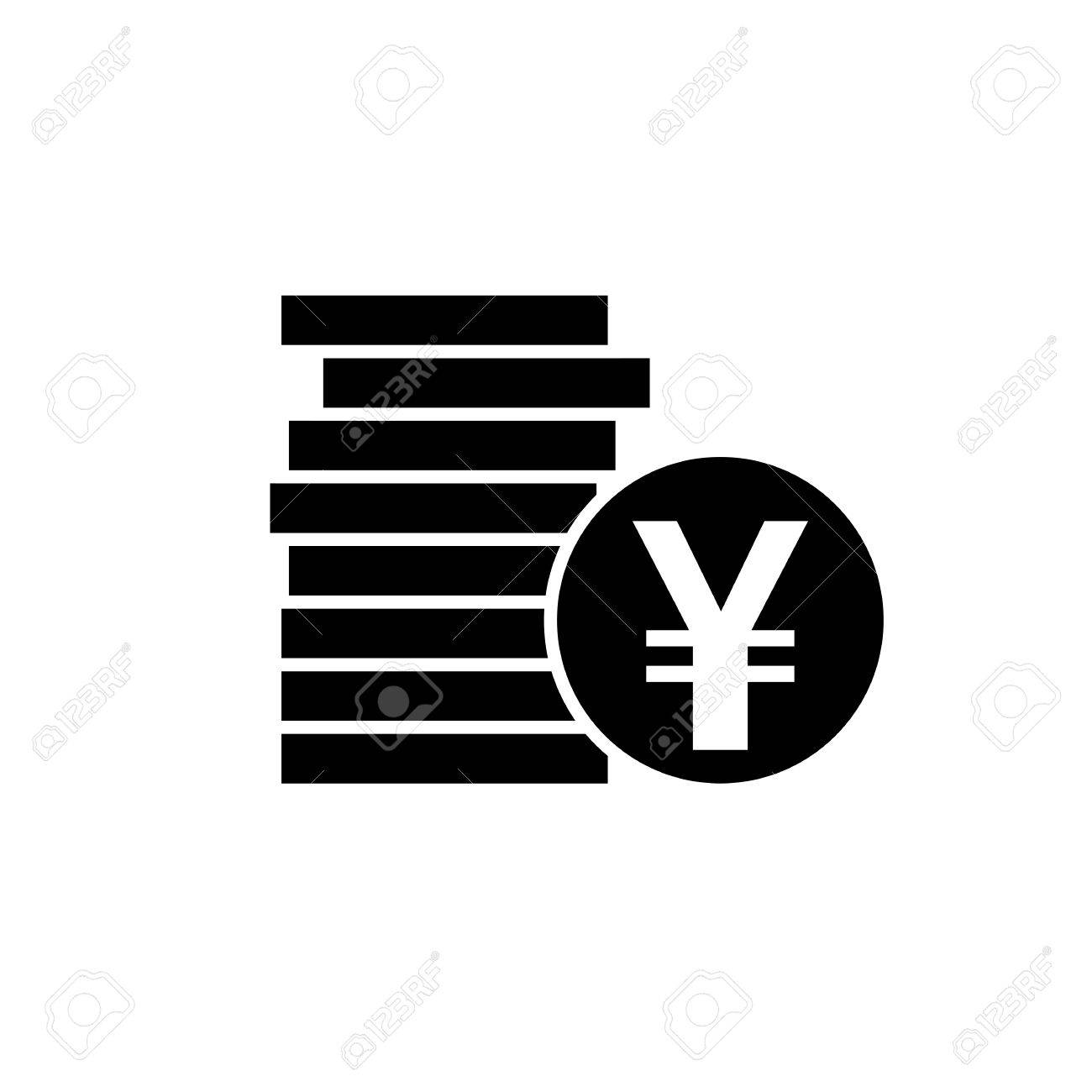 Japanese yen or chinese yuan currency symbol flat icon for apps japanese yen or chinese yuan currency symbol flat icon for apps and websites stock vector biocorpaavc