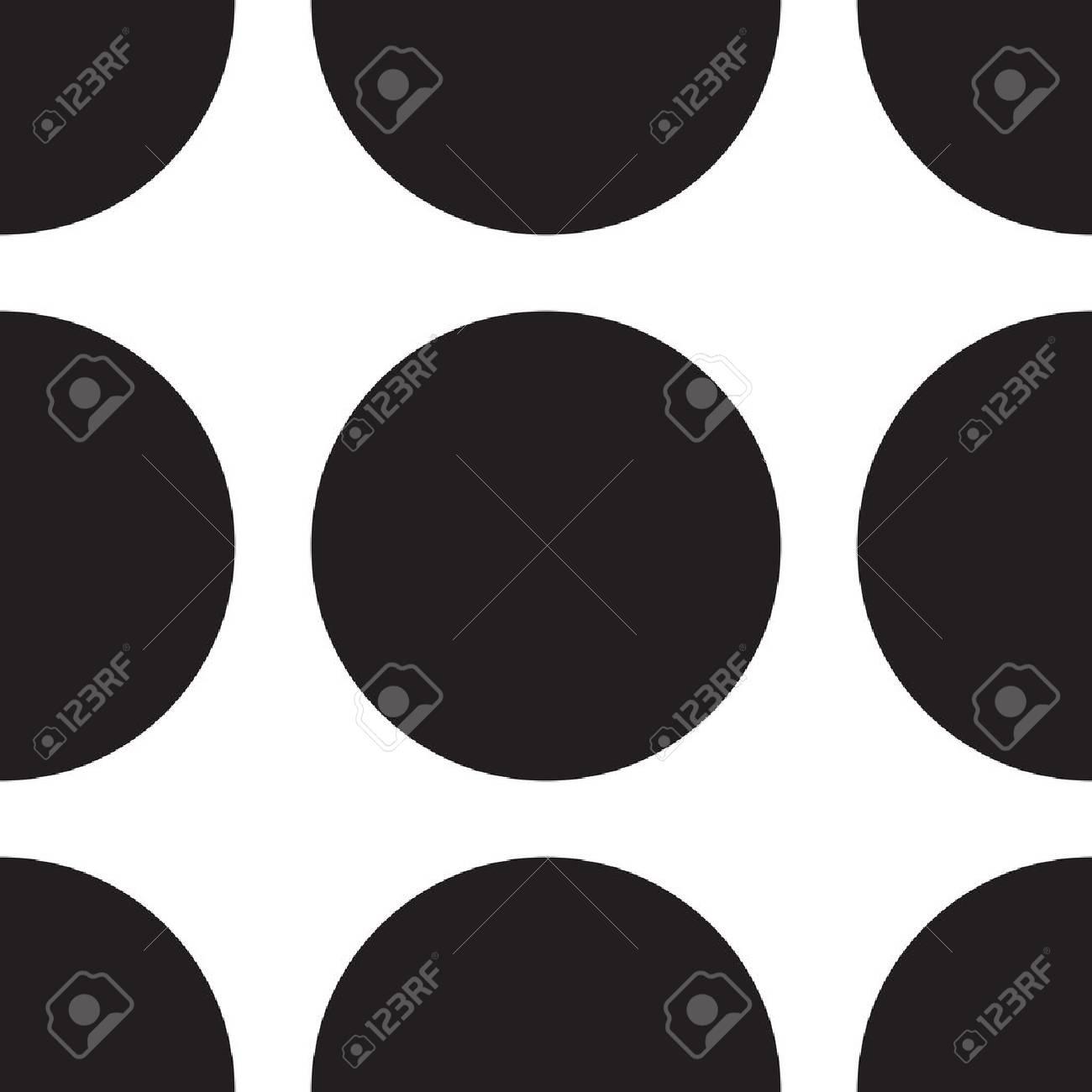 Sfondo bianco con punto nero