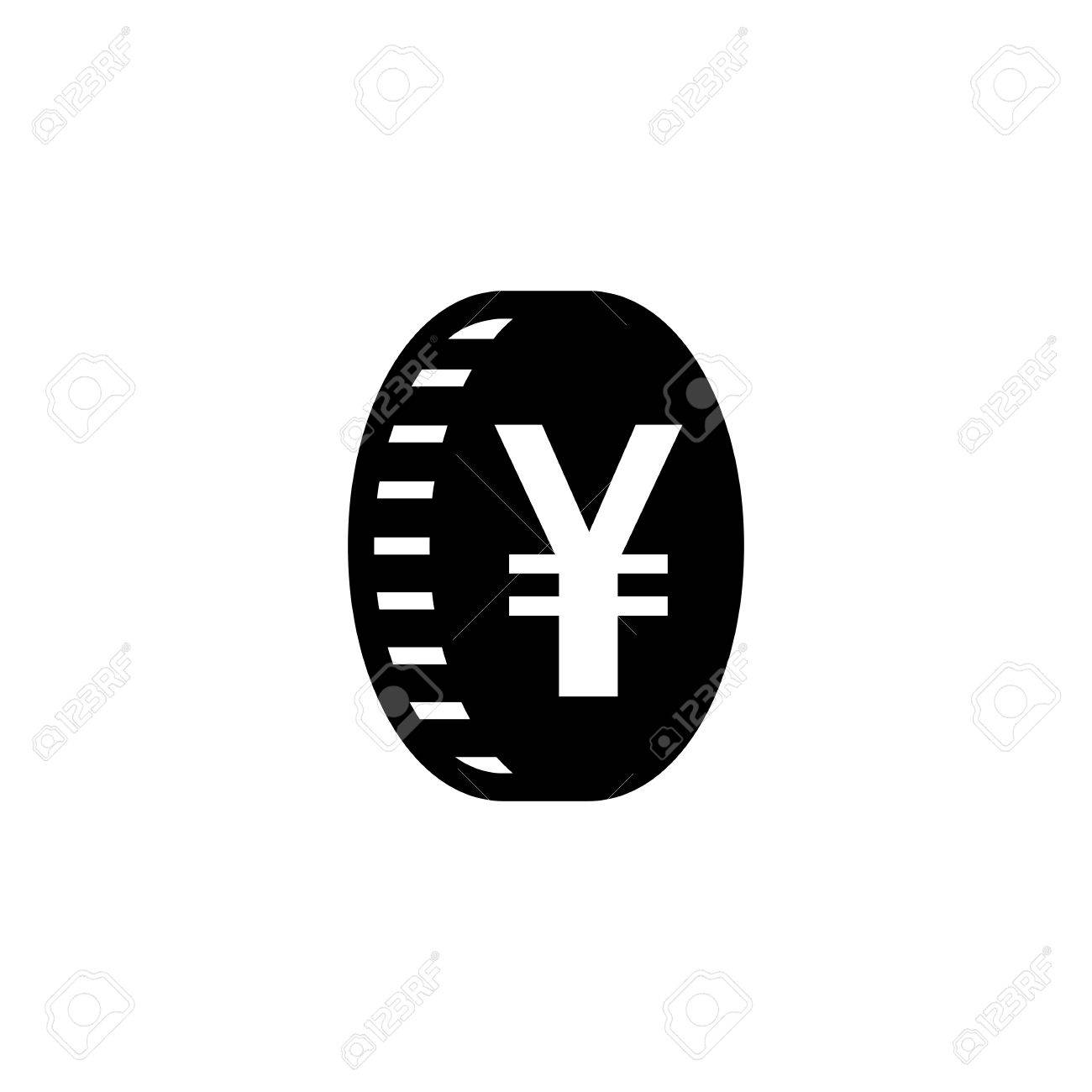 Japanese yen or chinese yuan currency symbol flat icon for apps japanese yen or chinese yuan currency symbol flat icon for apps and websites stock vector biocorpaavc Image collections