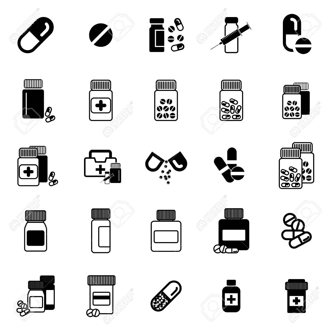 pill or drug vector icon set isolated pharmacy symbol collection royalty free cliparts vectors and stock illustration image 59623939 pill or drug vector icon set isolated pharmacy symbol collection