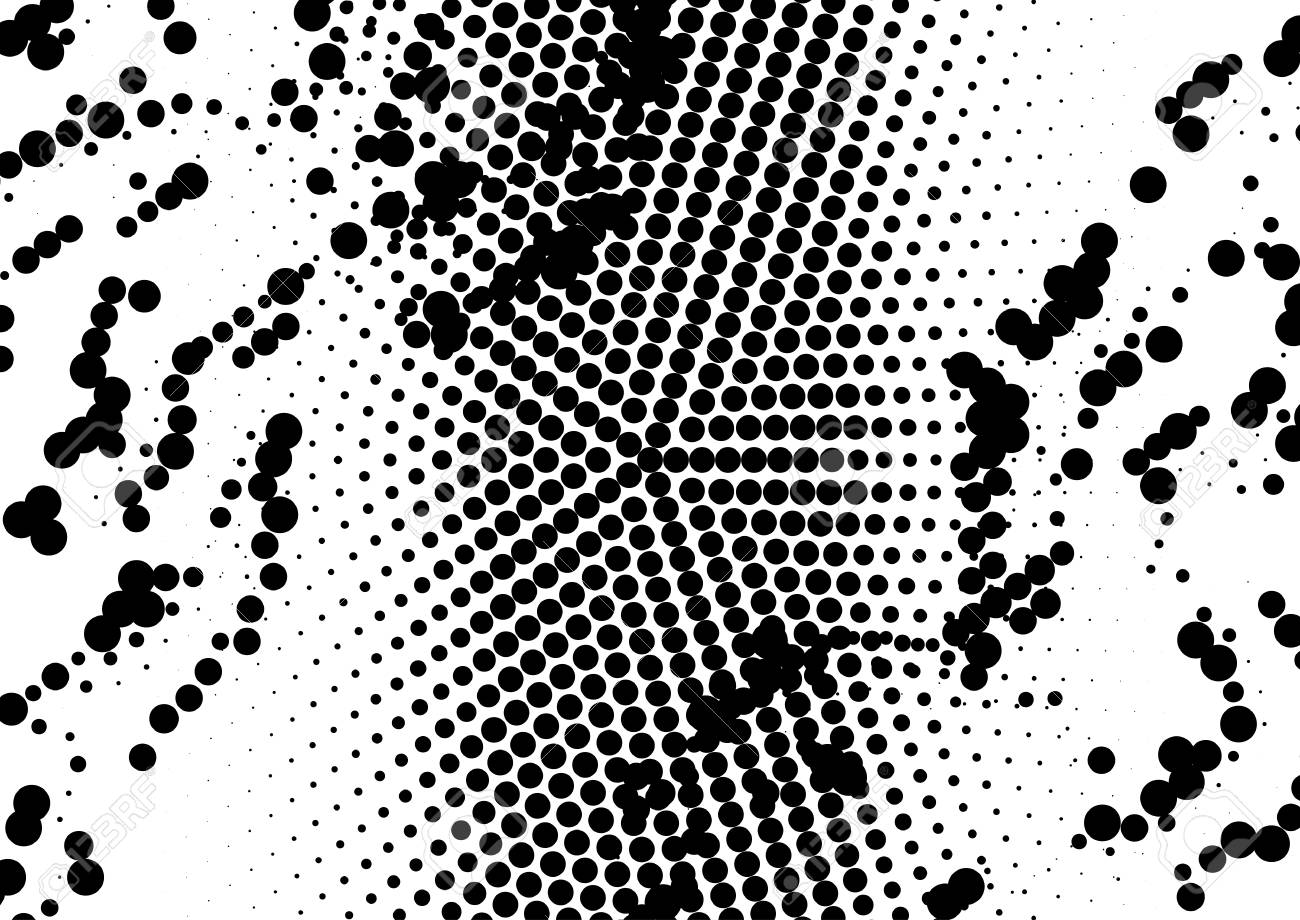 Dotted halftone background  Simulation of snake skin or python