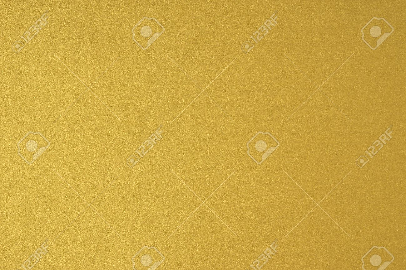 Glittering gold paper sheet texture background. Sparkling golden yellow pattern. - 52391957