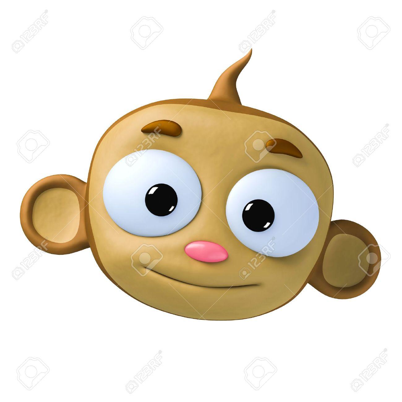 Silly Monkey Cartoon