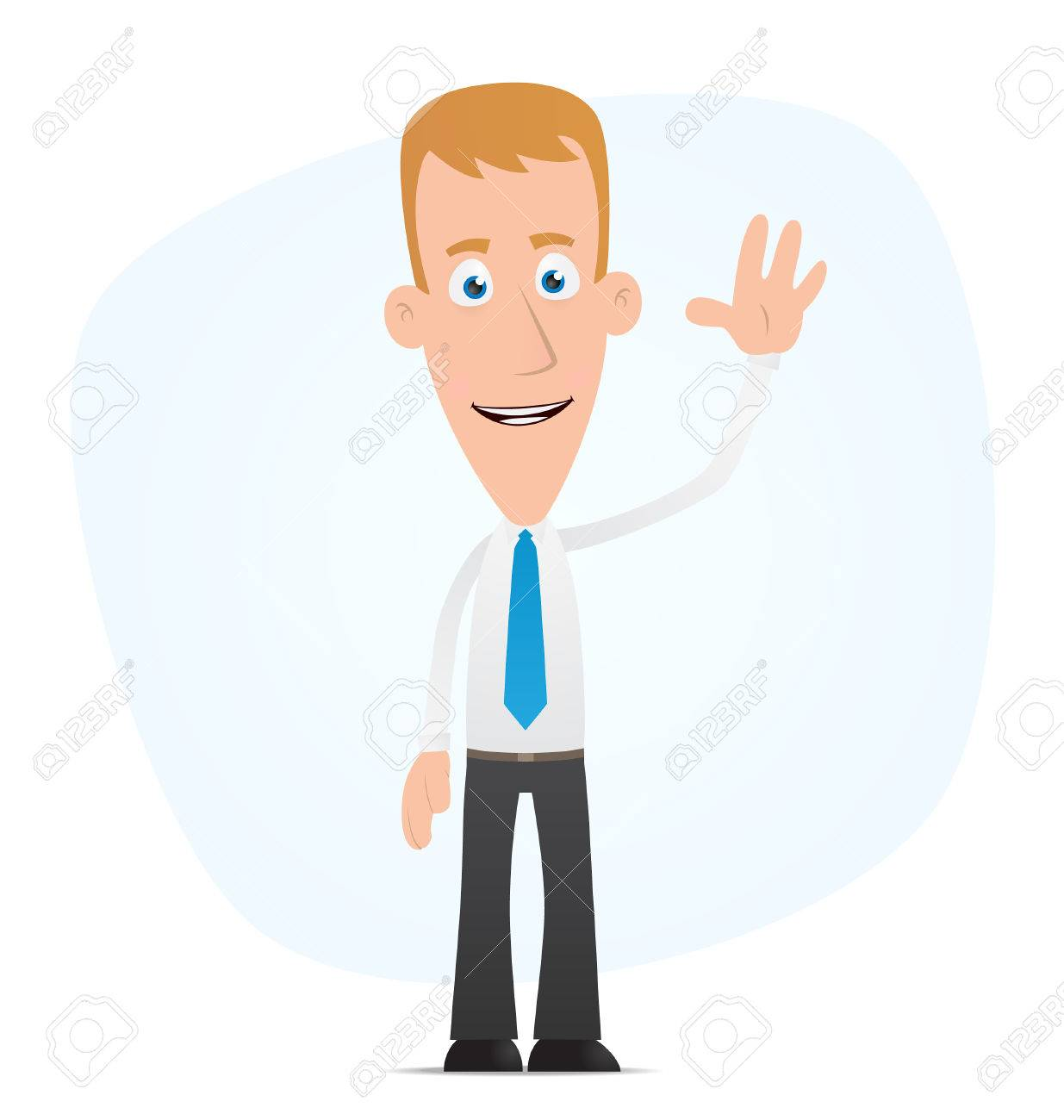 Illustration of a cartoon cute character for use in presentations, etc. Stock Vector - 7234769