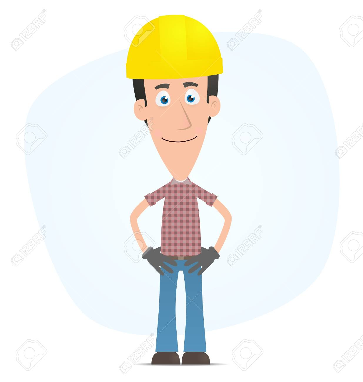 Illustration of a cartoon cute character for use in presentations, etc. Stock Vector - 7278066