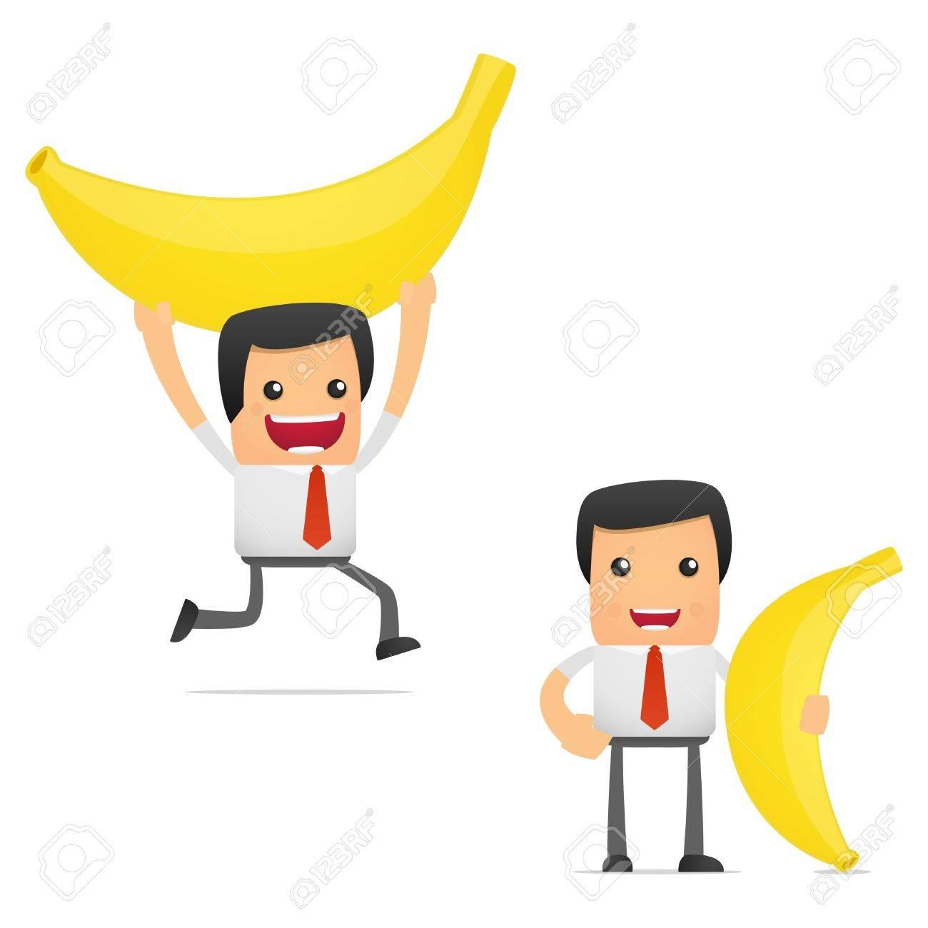 Je regrette de ne pas être un salaud 11864725-set-of-funny-cartoon-manager-cartoon-banana-eating