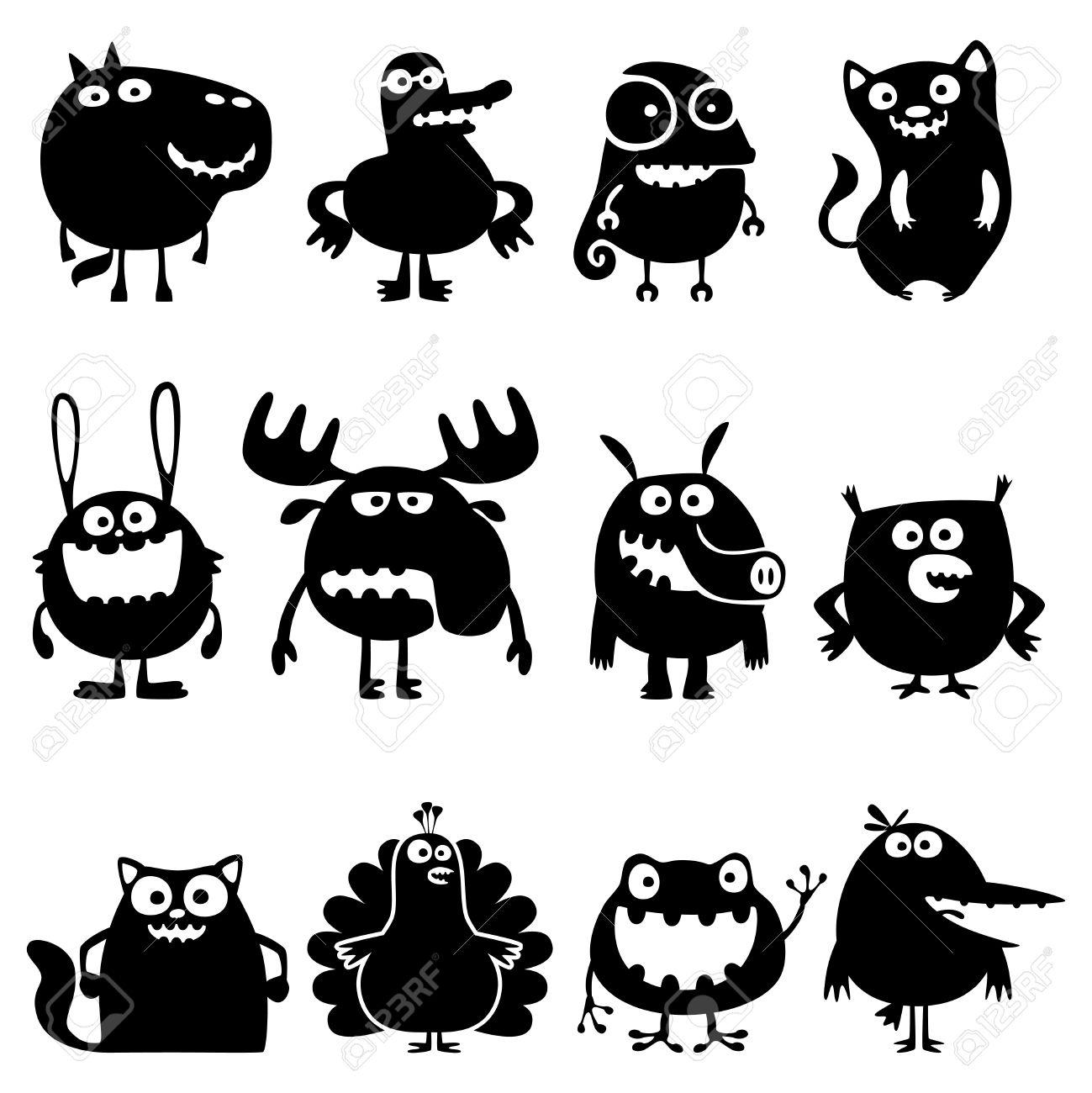 funny animals Stock Vector - 12071292