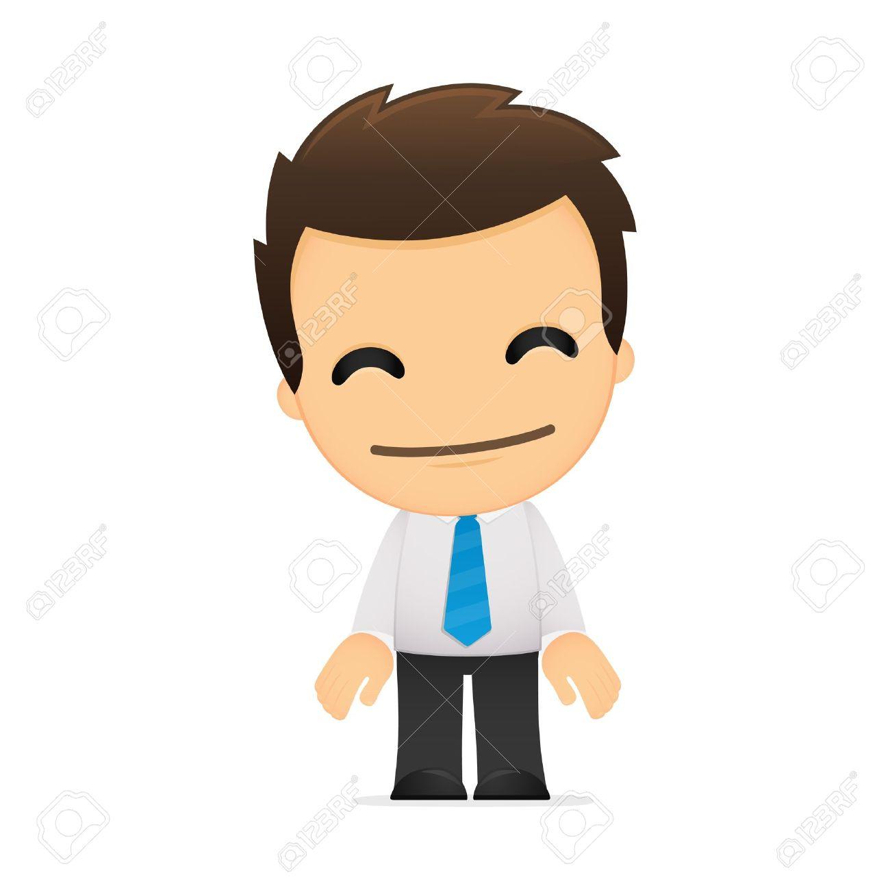 Business team cartoon characters cartoon vector cartoondealer com - Cartoon Man Funny Cartoon Office Worker Illustration