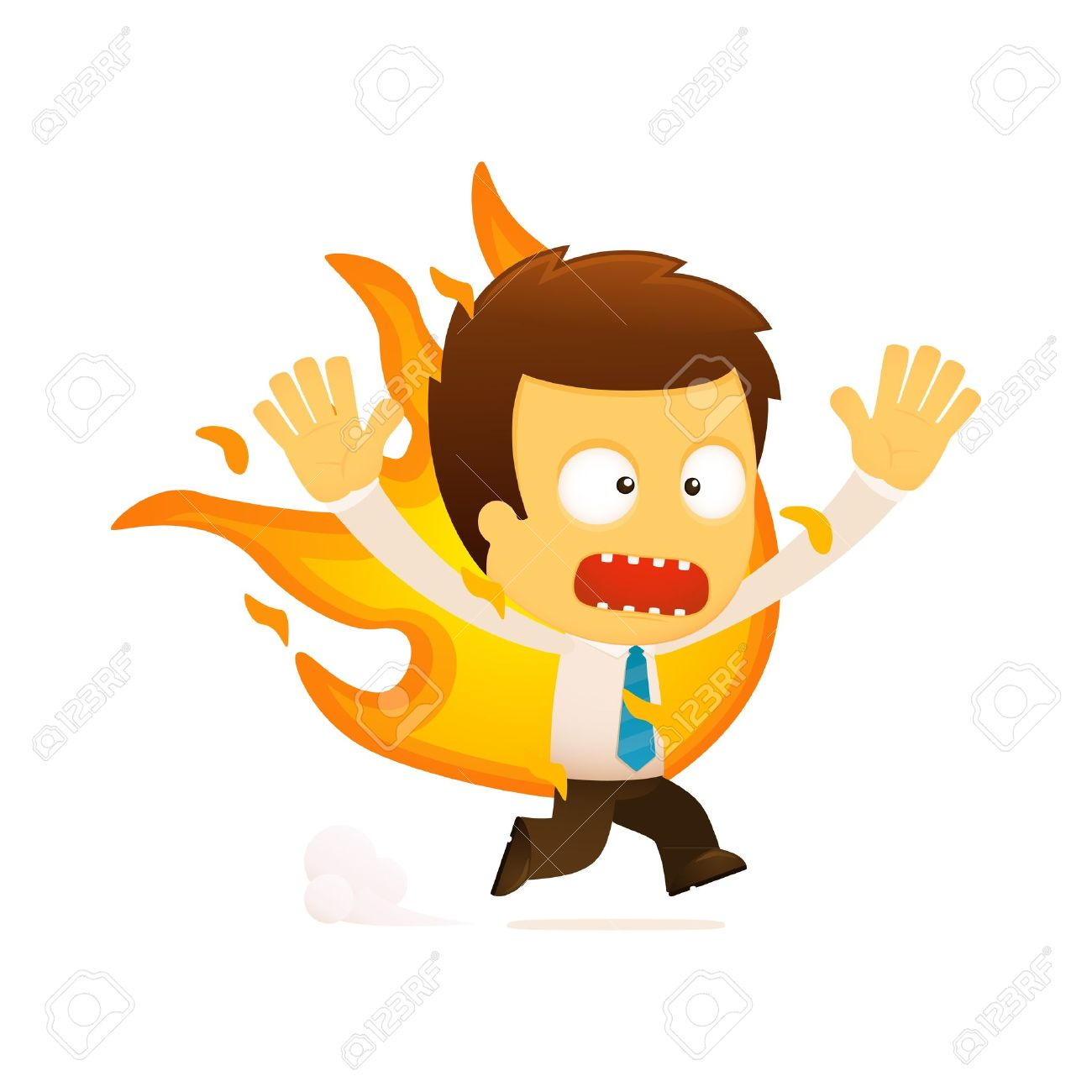 smart worker stock illustrations cliparts and royalty smart worker funny cartoon office worker illustration