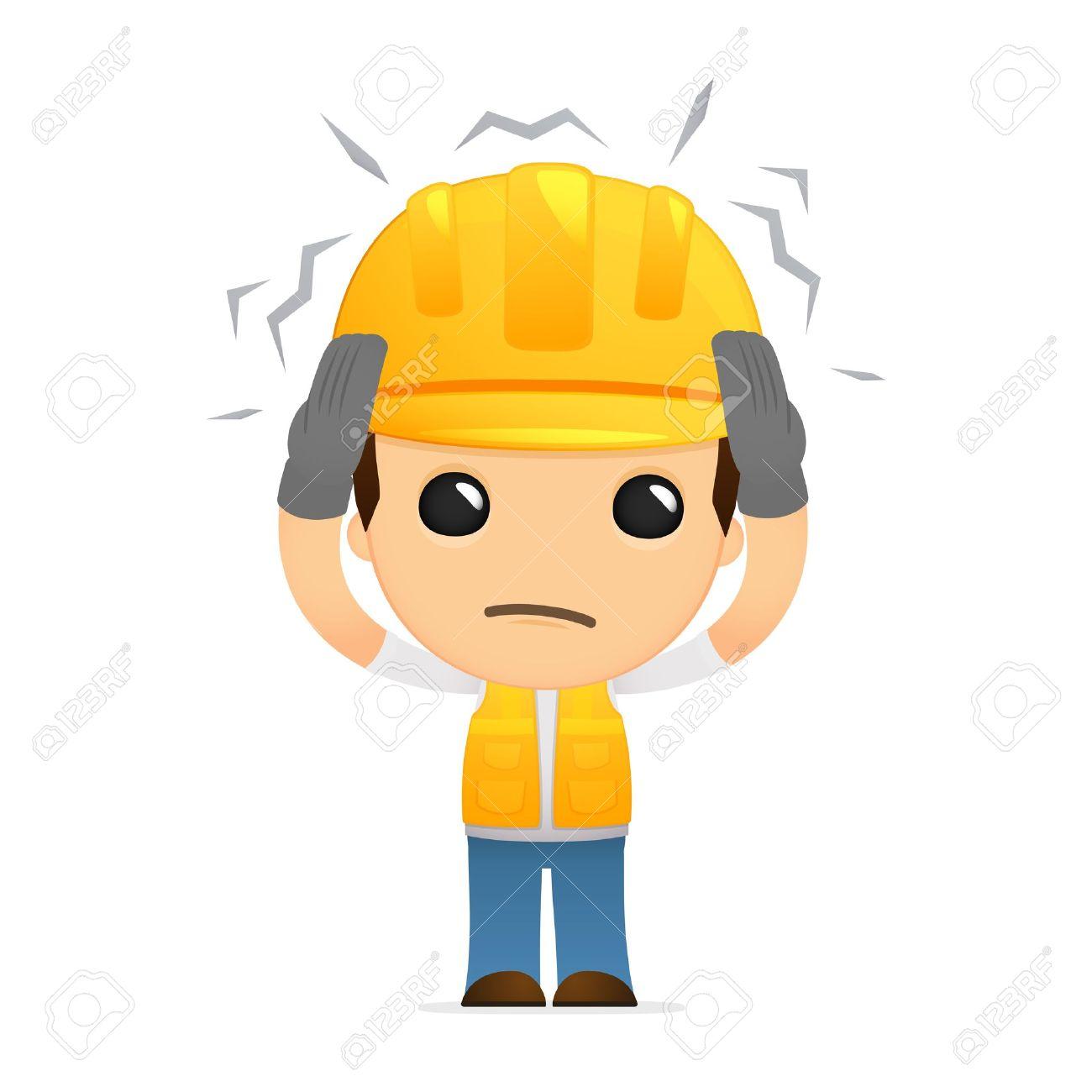 Resultado de imagen para trabajadores enfermos animados