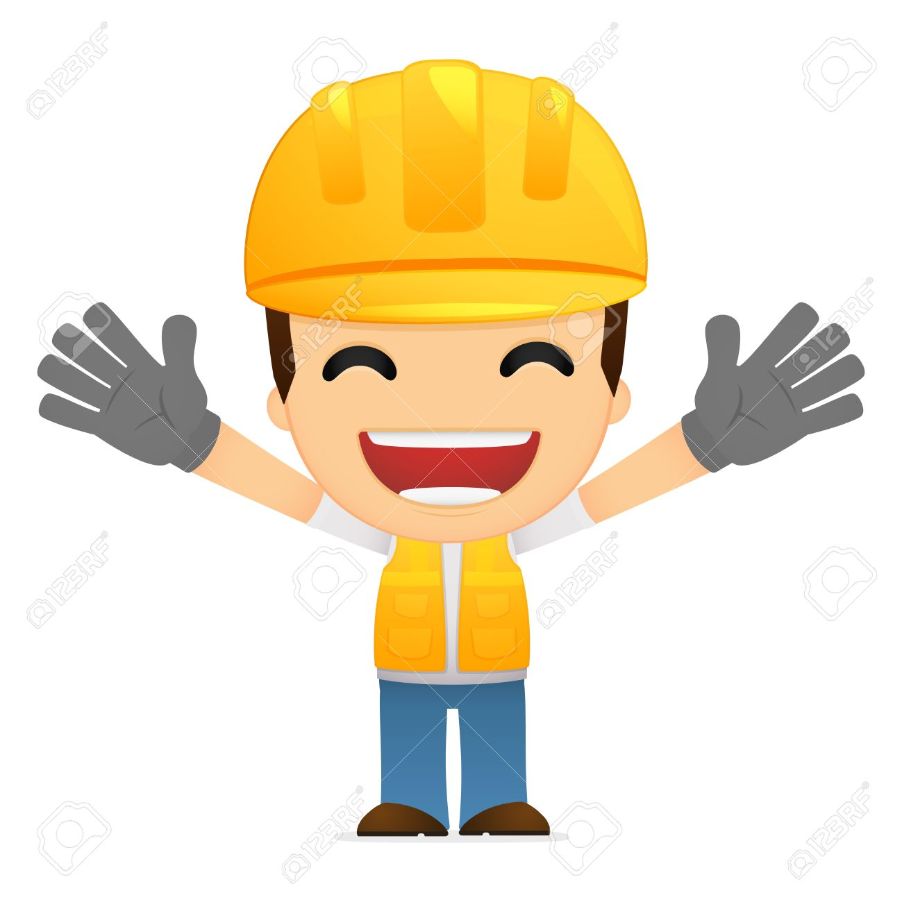 Resultado de imagen para trabajadores felices caricatura