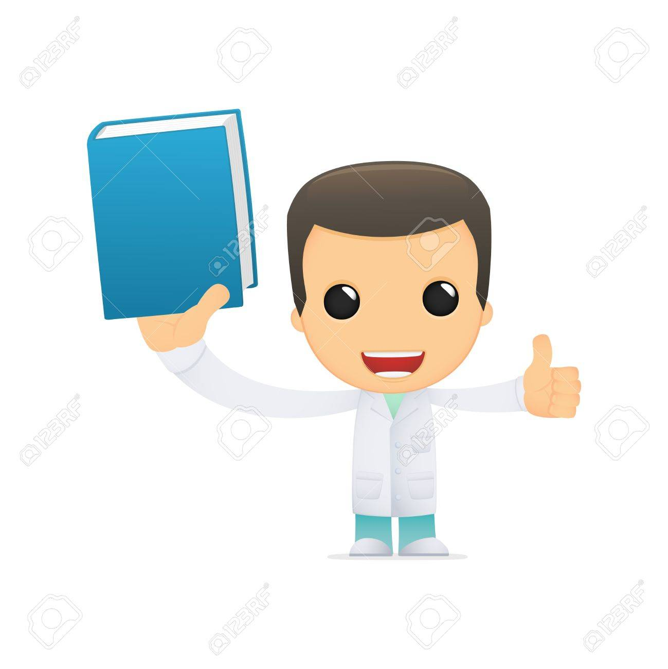 funny cartoon doctor Stock Vector - 13845212