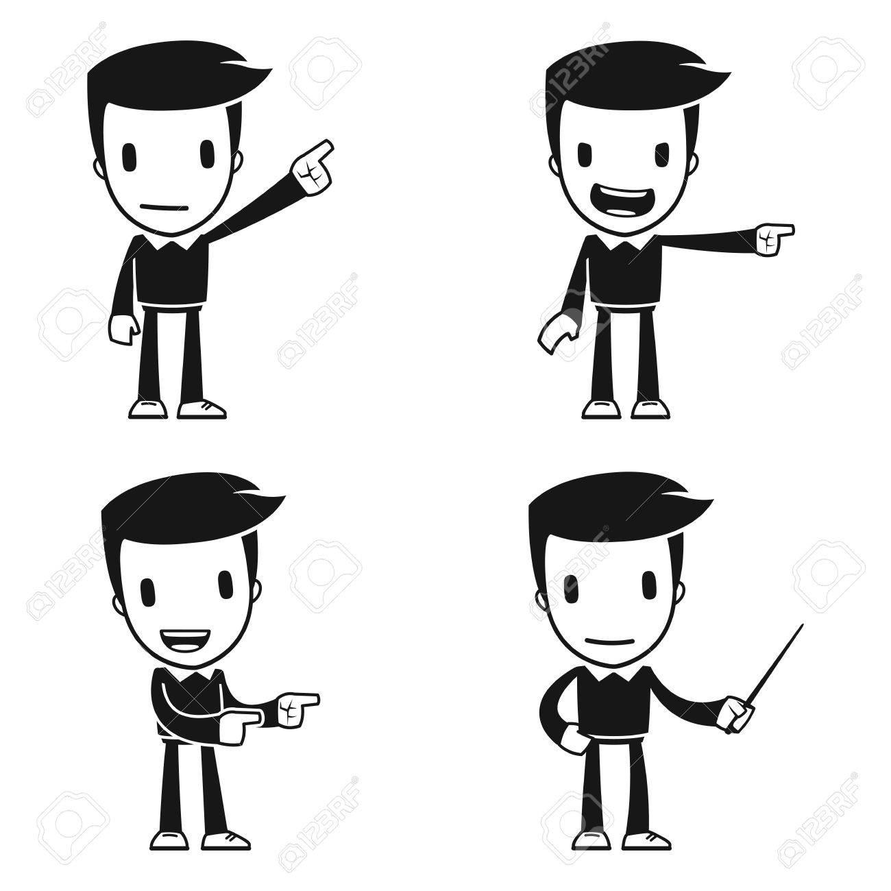 funny cartoon helper man Stock Vector - 14949288